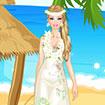 Barbie Hawaii Dress Up