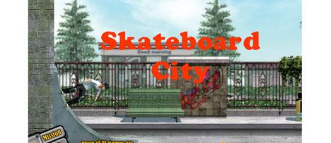 skateboard city game