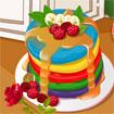 Addicted to Dessert: Rainbow Pancakes