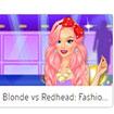 Blonde vs Redhead FashionShow
