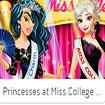 Princesses at miss college paegant