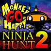 Monkey GO Happy Ninja Hunt 2