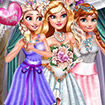 Princesses Wedding Selfie